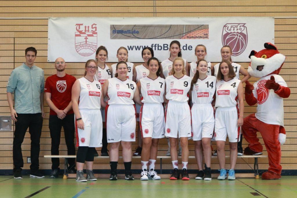 Teamfoto U18w beim Season Opening 2019